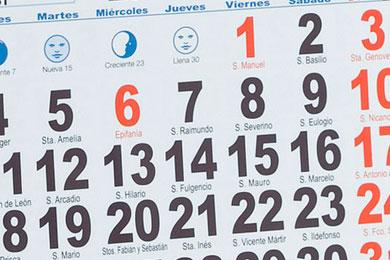 Calendario para Comprar Mejor en Comercios Online