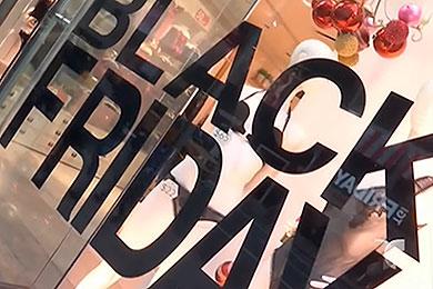 Publicidad tienda Black Friday