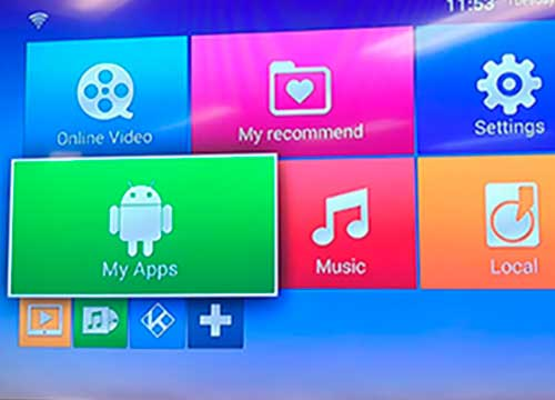 receptor smart tv
