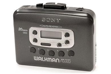 Walkman Sony Cassette